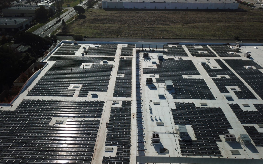 Guittard installs solar panels at Fairfield facility