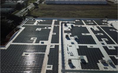 Guittard installs solar panels at Fairfield facility