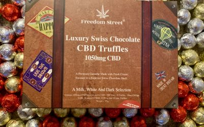 UK start-up announces launch of luxury CBD truffles
