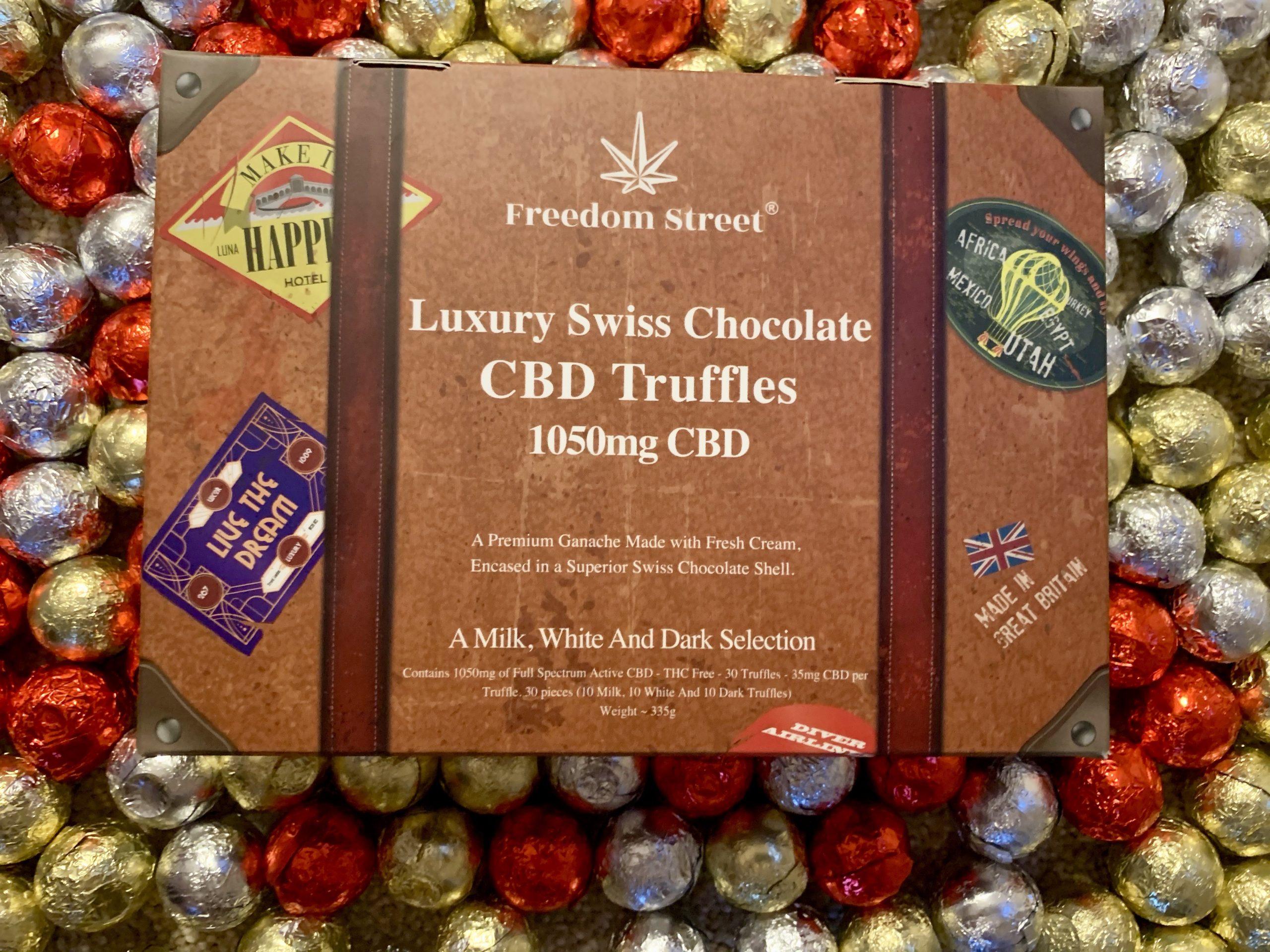 UK start-up announces launch of luxury CBD truffles