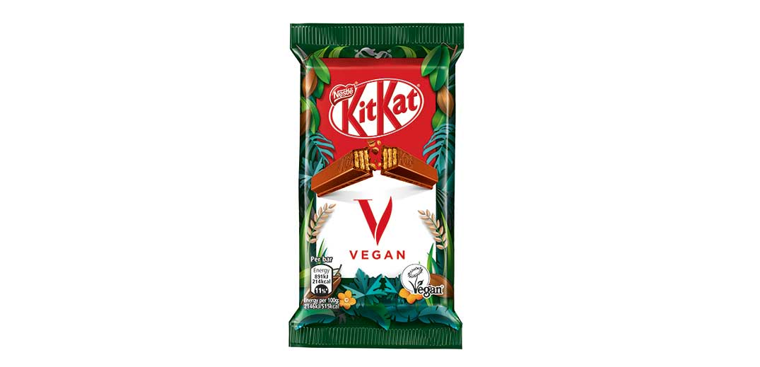 Nestlé to roll out vegan KitKat