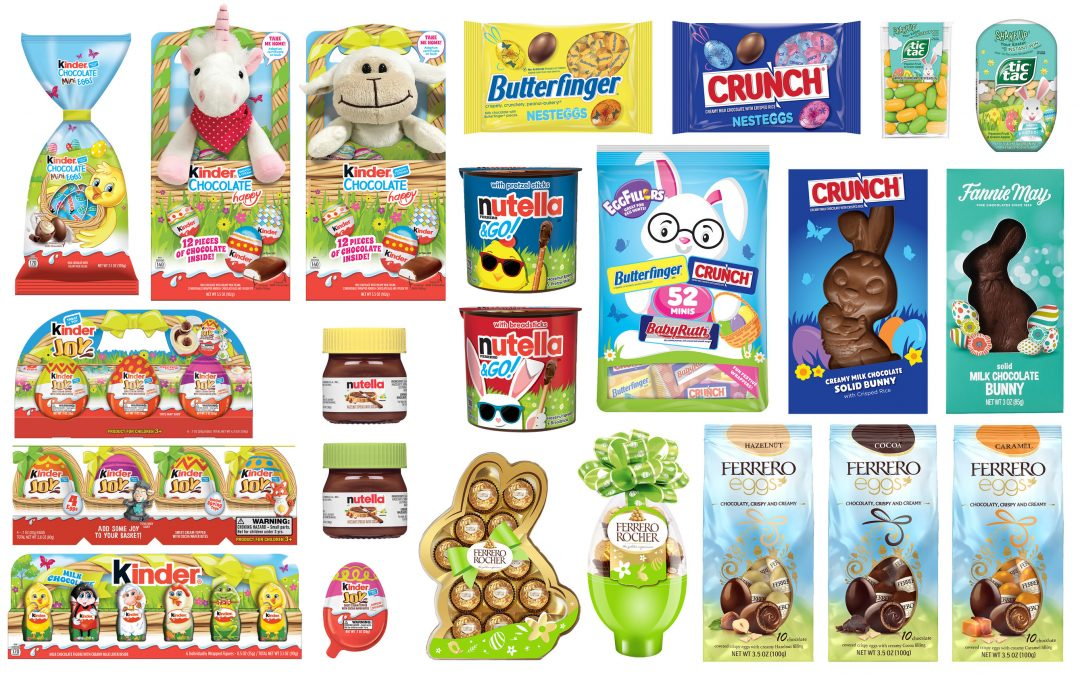 Ferrero unveils Easter range for 2021