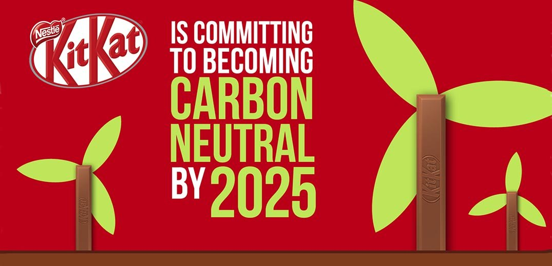 KitKat pledges to be carbon neutral by 2025