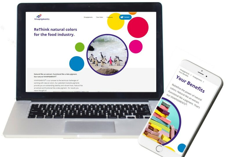 Capol unveils new website for natural colours technology
