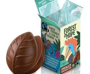 Sustainable chocolate surprise egg brand unveiled in Ireland