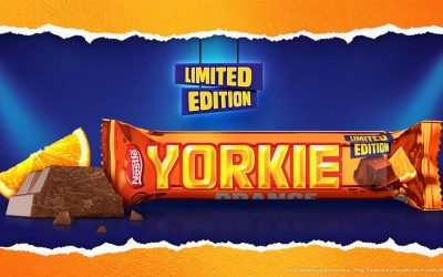 Nestlé rolls out limited edition Yorkie Orange