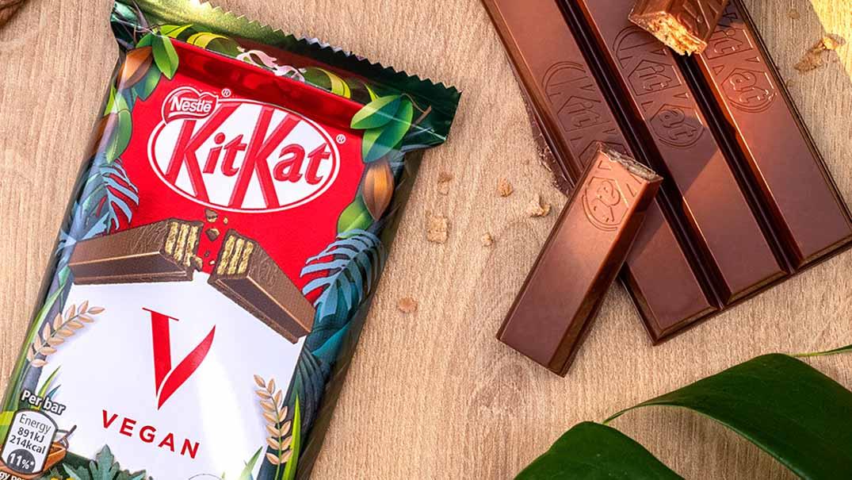 Nestlé rolls out new vegan KitKat