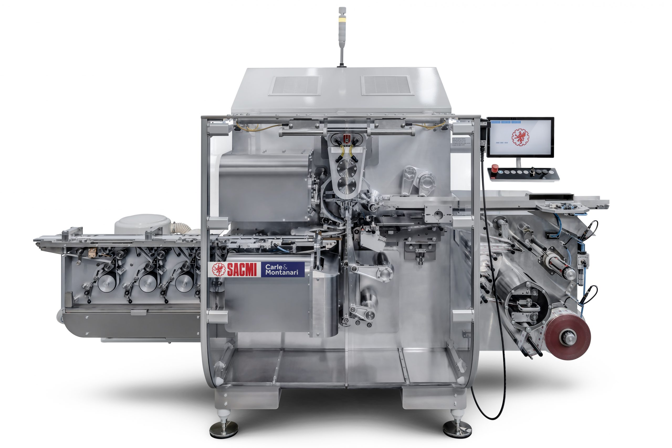 Hybrid, modular, high-performance: SACMI Packaging & Chocolate presents the new HY7 wrapping machine