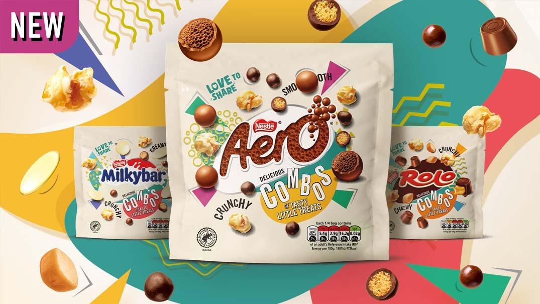 Nestlé rolls out new 'Combos' range