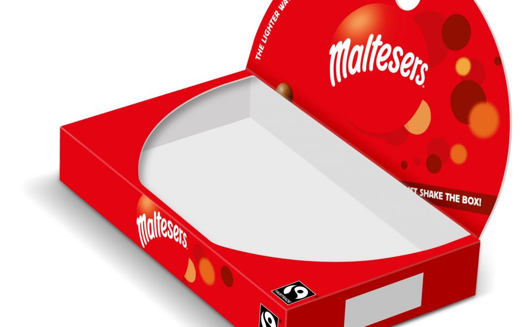 UK's Maltesers boxes now fully recyclable